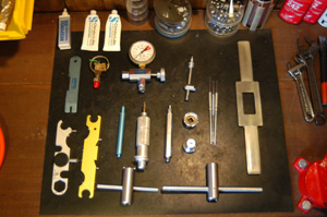 メーカー専用特殊工具(一部)