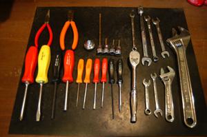 通常使用工具のほんの一部です